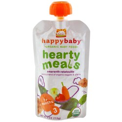Happy Baby Organic Baby Food Stage 3 Hearty Meals