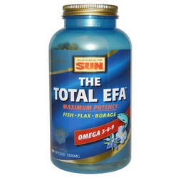 Health From the Sun The Total EFA Maximum Omega 1300 mg