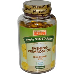 Health From the Sun Organic Vegetarian Evening Primrose Oil