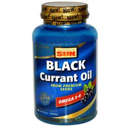 Health From the Sun Black Currant Oil 1000 mg