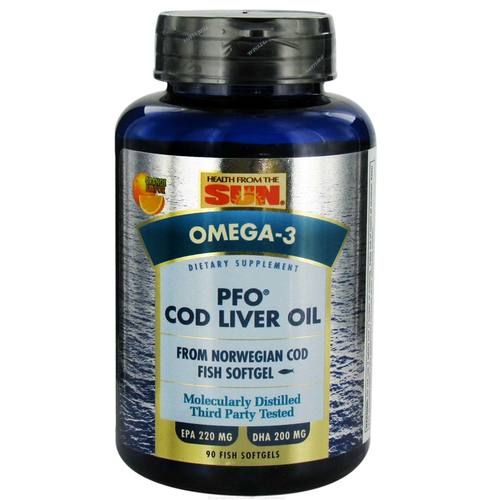 PFO Pure Cod Liver Oil Softgels