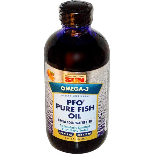 PFO Pure Fish Oil Liquid