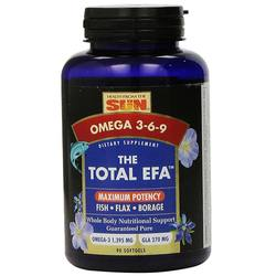 Health From the Sun The Total EFA Maximum Omega