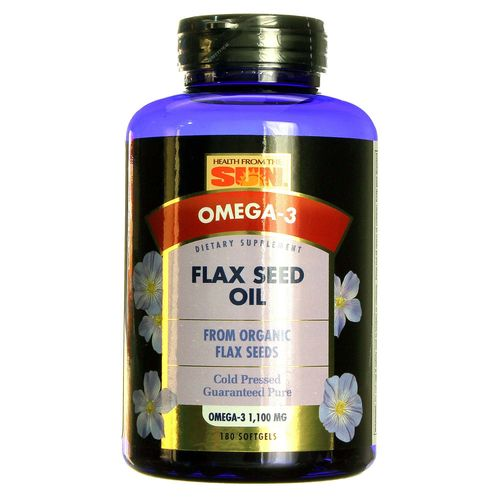 Organic Flax Seed Oil 1100 mg