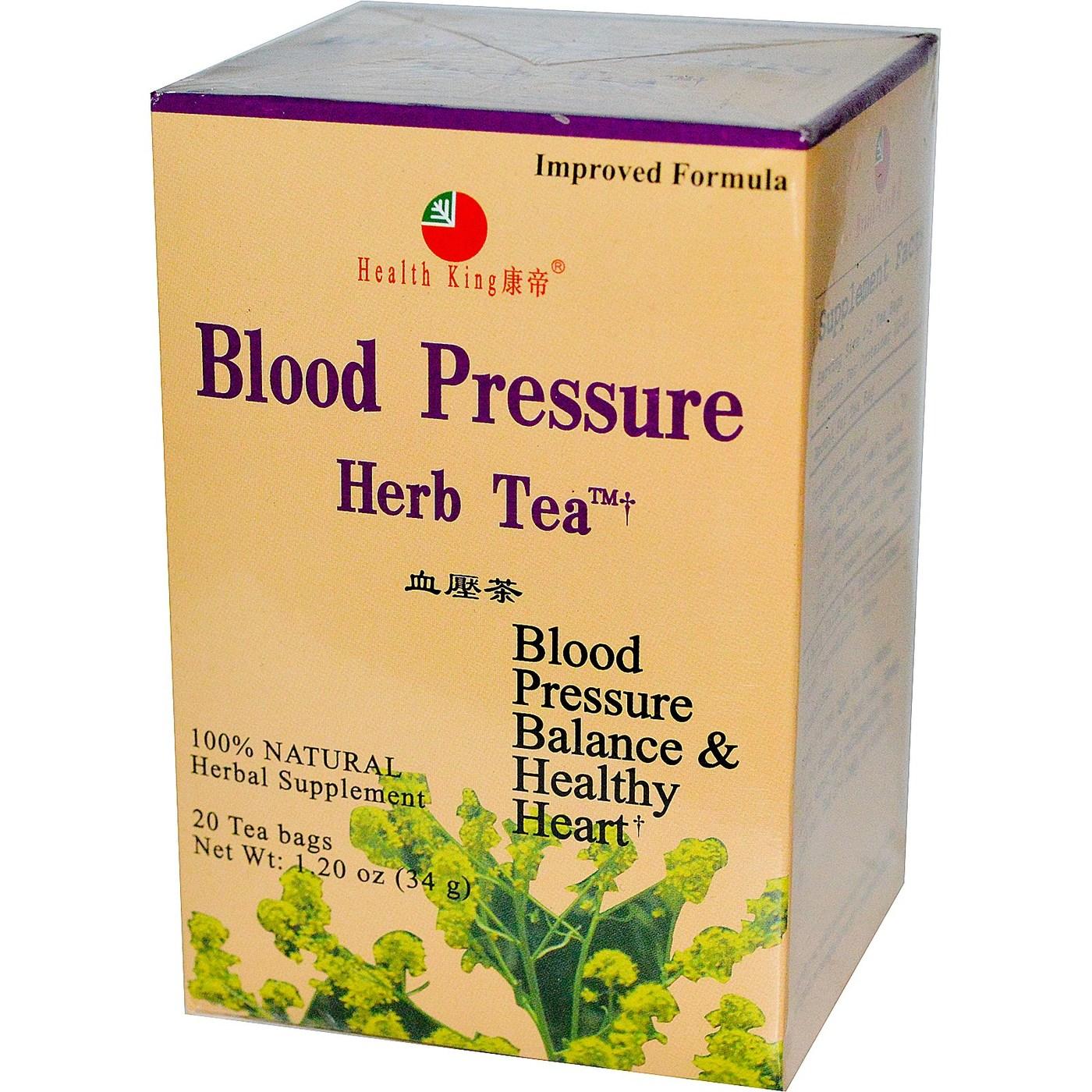 Herbal tea for high blood pressure