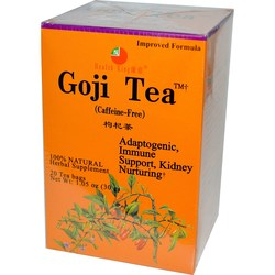 Health King and Balanceuticals Goji Tea
