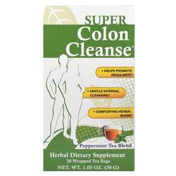 Health Plus Colon Cleanse Peppermint Tea