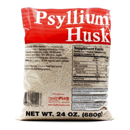 Psyllium Husk 24 Oz Bag