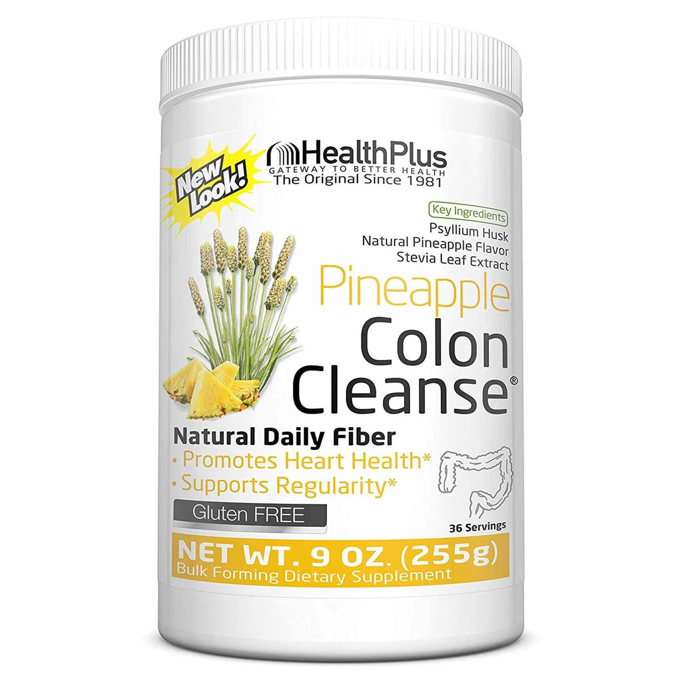 Health Plus Colon Cleanse Natural 12 oz