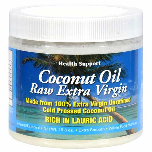 Health Support Coconut Oil Diet Gourmet Style  - 16 Oz - 6382_front.jpg