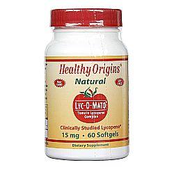 Healthy Origins Lyc-O-Mato Tomato Lycopene Complex 15 mg