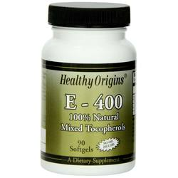 Healthy Origins E - 400 IU Mixed Tocopherols