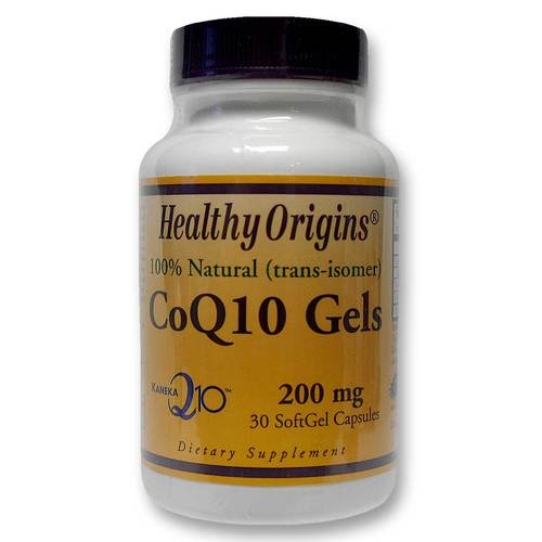 Healthy Origins CoQ10  - 200 mg - 30 softgels - 12092010_34.jpg