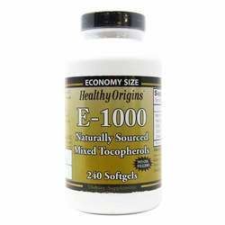Healthy Origins Vitamin E 1000 IU