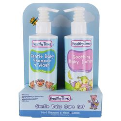 Healthy Times Gentle Baby Care Bath Set