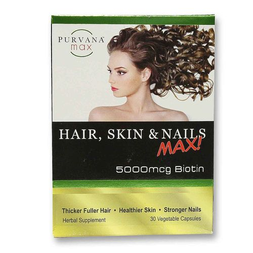 Purvana Hair, Skin and Nails Max