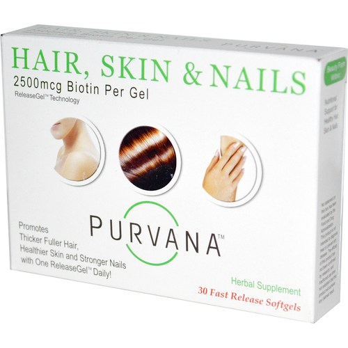 Purvana Hair, Skin, & Nails