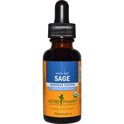 Herb Pharm Whole Leaf Sage Extract