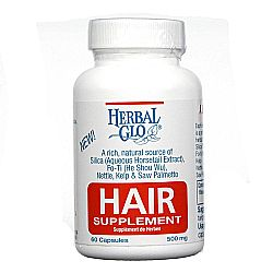 Herbal Glo Thinning Hair Supplement