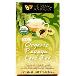 Herbal Papaya Organic Papaya Leaf Tea