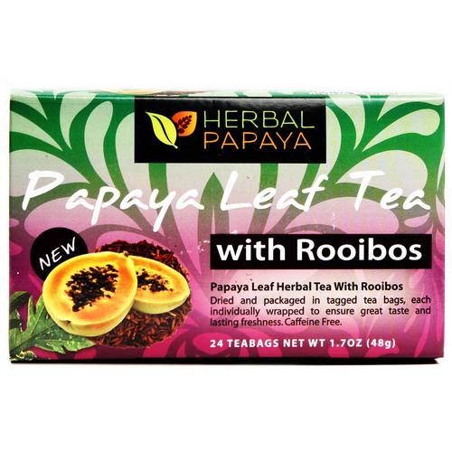 Organic Papaya Leaf Tea with Rooibos