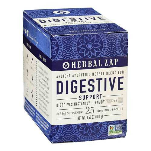 Herbal Zap Digestive Support - 25 Packets - 106395_front2020.jpg
