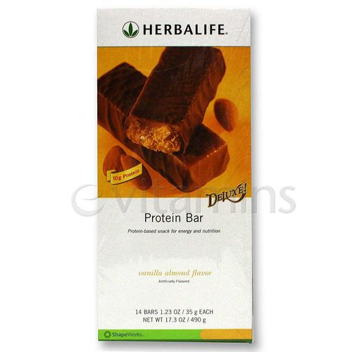 Herbalife Protein Bars Deluxe - 14 Bars
