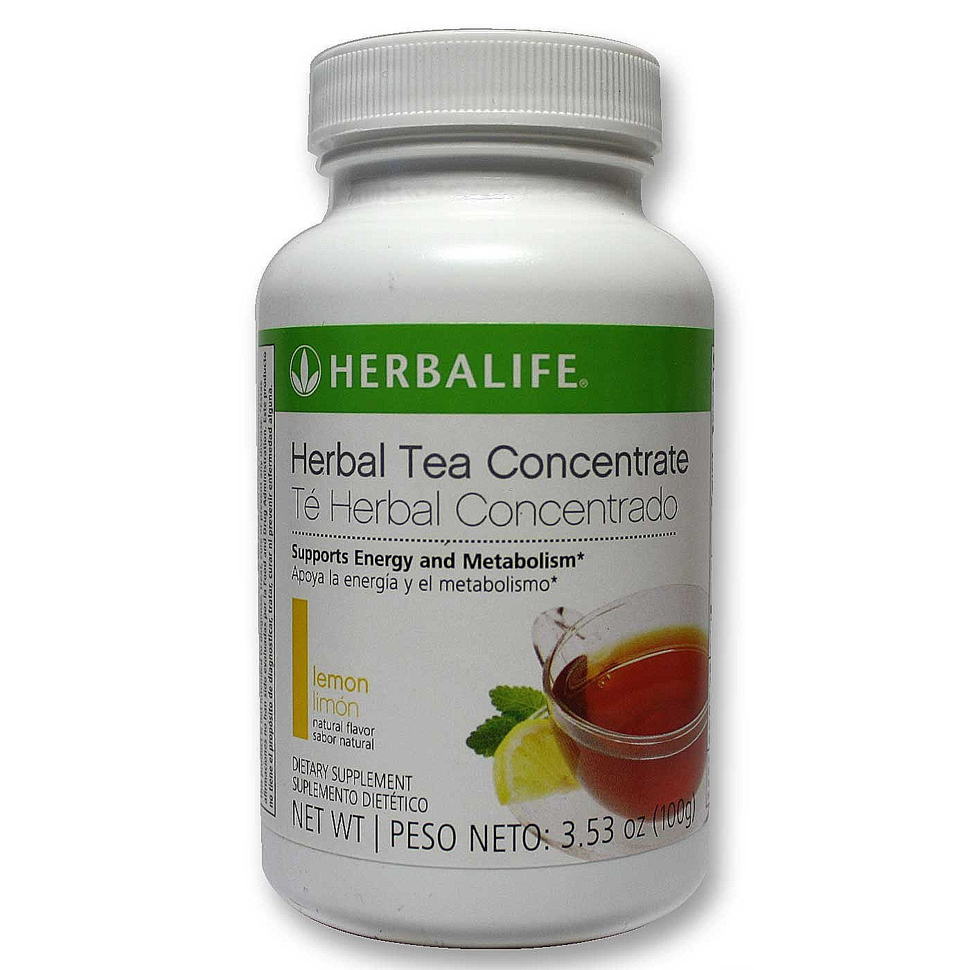 Herbalife Herbal Tea Concentrate - Lemon - 3.5 0z (100 g