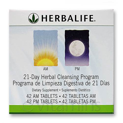 Herbalife 21 Day Am Pm Herbal Cleansing Program 42 Am Tablets 42