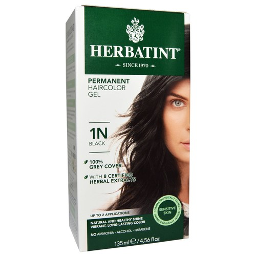 Acheter Herbatint Permanent Haircolor Gel, Schwarz - 1N - 4 oz ...