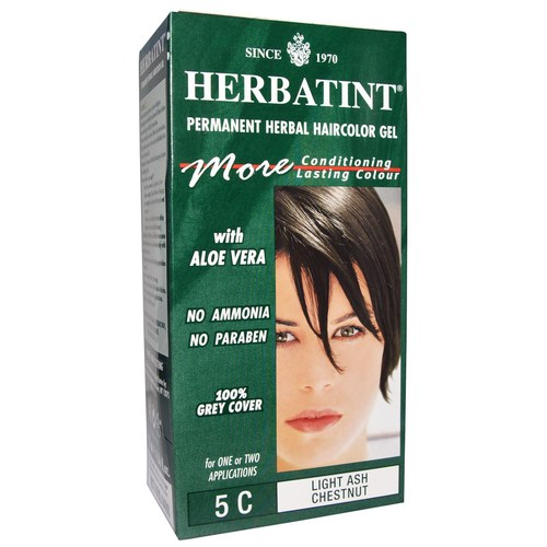 Permanent Herbal Haircolor Gel