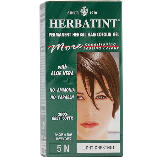 Permanent Herbal Haircolour Gel