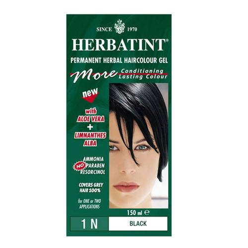 Herbatint Permanent Herbal Haircolor-1N