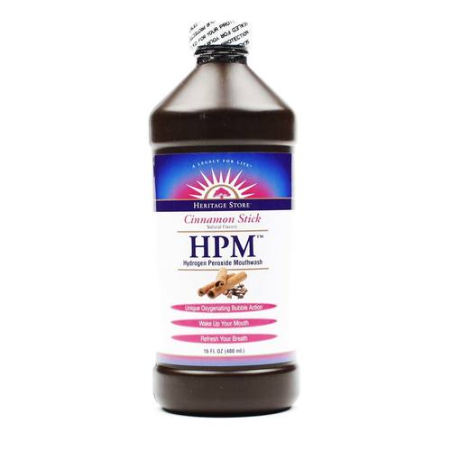 Heritage Products Hydrogen Peroxide Mouthwash Cinnamon Stick - 16 fl oz - 076970360185_1.jpg
