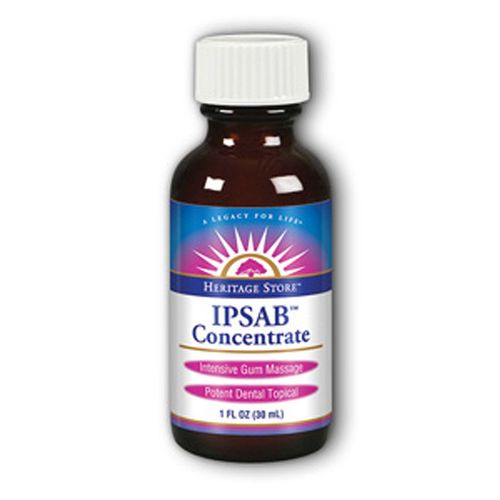 Heritage Products Ipsab Concentrate         Peppermint - 1 fl oz