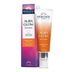 Heritage Store Aura Glow Gel Cream Brightening Citrus