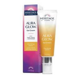 Heritage Store Aura Glow Gel Cream Carifying Lemon