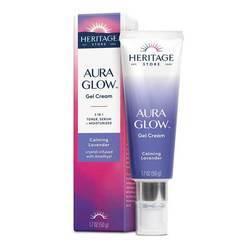 Heritage Store Aura Glow Gel Cream Calming Lavender