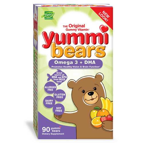 Yummi Bears Children's Omega 3 + DHA