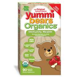 Hero Nutritionals Yummi Bears Organics Immunity Health Gummies