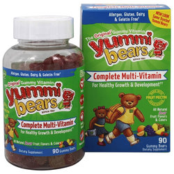 Hero Nutritionals Yummi Bears Children's Complete Multi-Vitamin