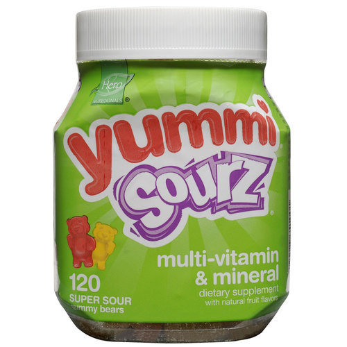 Yummi Bears Sourz Multi-Vitamin  Mineral