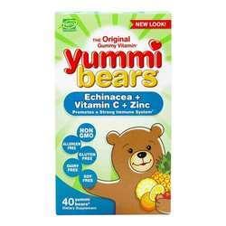 Hero Nutritionals Yummi Bears Echinacea plus Vitamin C  Zinc