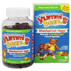 Hero Nutritionals Yummi Bears Whole Food Plus Antioxidants
