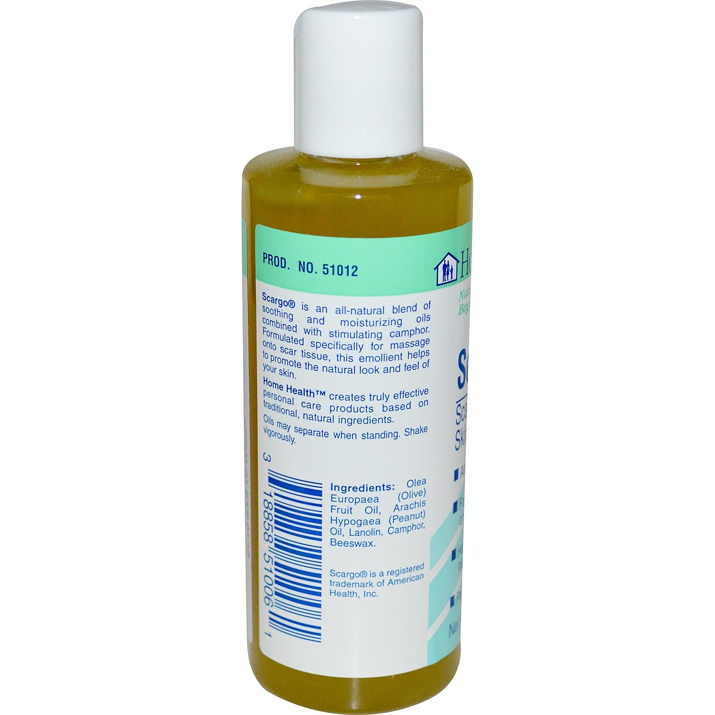Home Health Products Scargo Scar Massage Skin Lotion - 4 oz