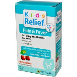 Homeolab USA Kids Pain  Fever Relief