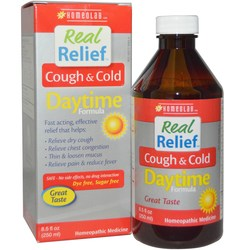 Homeolab USA Real Relief Cough  Cold