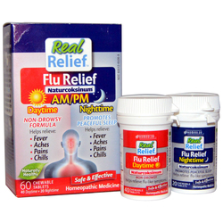 Homeolab USA Real Relief AMPM Flu Relief