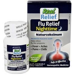 Homeolab USA Real Relief Flu Nighttime Naturcoksinum