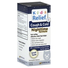 Homeolab USA Kids Relief Cough  Cold Nighttime Formula - 3.4 fl oz
